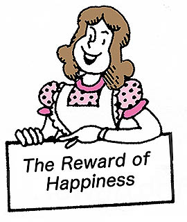the reward of happiness 太陽のほほえみ 心のともしび